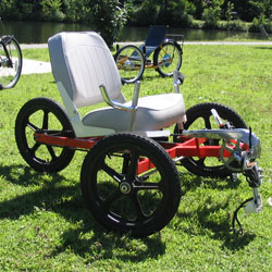 Small trike with big seat